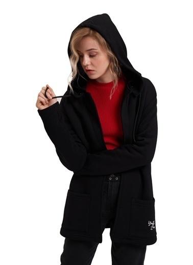 Mizalle Youth Ceket Siyah